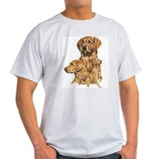 golden retriever Ash Grey T-Shirt
