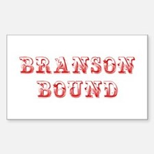 BRANSON-BOUND-MAX-DARK-RED Decal