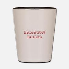 BRANSON-BOUND-MAX-DARK-RED Shot Glass
