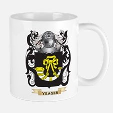 Yeager Family Crest (Coat of Arms) Mugs