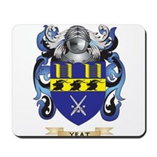 Yeat Family Crest (Coat of Arms) Mousepad