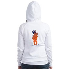 Happy BBW Easter (no title) Fitted Hoodie