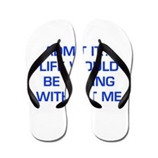 admit-it-EURO-BLUE Flip Flops