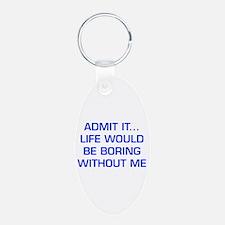 admit-it-EURO-BLUE Keychains