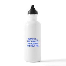 admit-it-EURO-BLUE Water Bottle