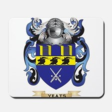Yeats Family Crest (Coat of Arms) Mousepad
