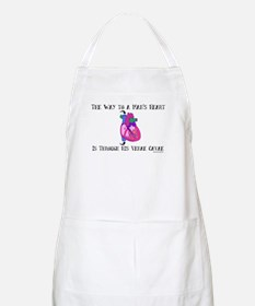 Way to a Man's Heart BBQ Apron