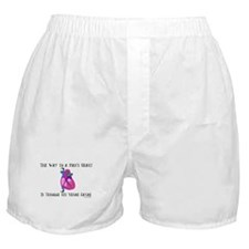 Way to a Man's Heart Boxer Shorts