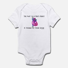 Way to a Man's Heart Infant Bodysuit