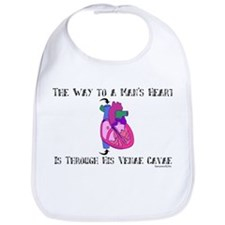 Way to a Man's Heart Bib