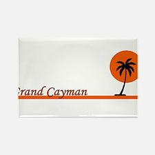 Cute Grand cayman Rectangle Magnet