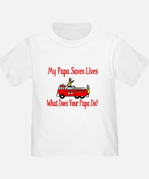 Firefighter Saves Lives-Papa T