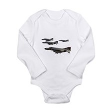 F-4 Phantom II Long Sleeve Infant Bodysuit