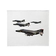 F-4 Phantom II Throw Blanket