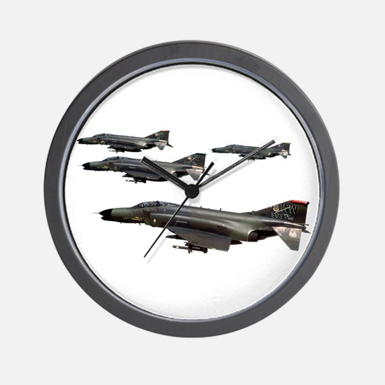 F-4 Phantom II Wall Clock