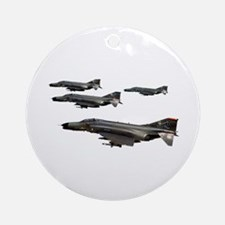 F-4 Phantom II Ornament (Round)