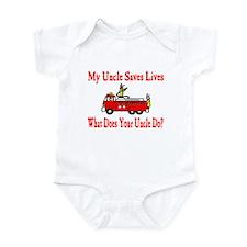 Firefighter Saves Lives-Uncle Infant Bodysuit