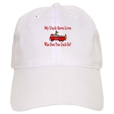 Firefighter Saves Lives-Uncle Baseball Cap