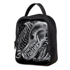 Extinction is Forever Neoprene Lunch Bag