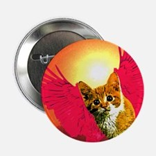 """red wing cat 2.25"""" Button (100 pack)"""
