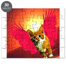 red wing cat Puzzle