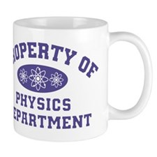 Property Of Physics Department Mugs