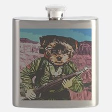 Puppy's War Flask