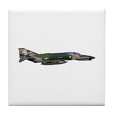 F-4 Phantom II Aircraft Tile Coaster