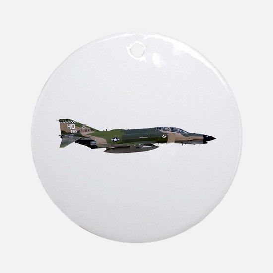F-4 Phantom II Aircraft Ornament (Round)