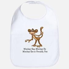 Monkey See... Bib