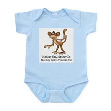 Monkey See... Infant Bodysuit