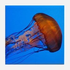 Jellyfish Tile Coaster