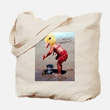 Duck outta water Tote Bag