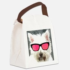 Roger The Dog Canvas Lunch Bag