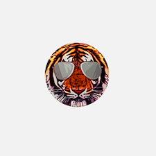 Cool tiger Mini Button
