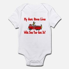 Firefighter Saves Lives-Aunt Infant Bodysuit