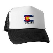 Telluride Grunge Flag Trucker Hat