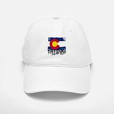 Telluride Grunge Flag Baseball Baseball Cap