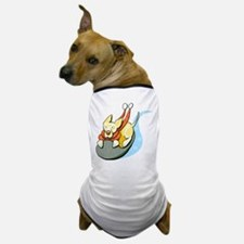 Yellow Lab Sled Dog T-Shirt