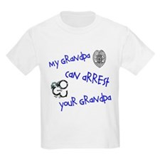 My Grandpa Can Arrest Yours Kids T-Shirt