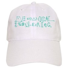 Mechanical Engineering Baseball Baseball Cap