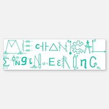 Mechanical Engineering Bumper Bumper Bumper Sticker