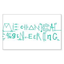 Mechanical Engineering Stickers
