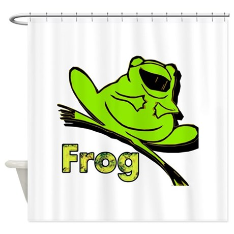 Frog Shower Curtain By Cool4less