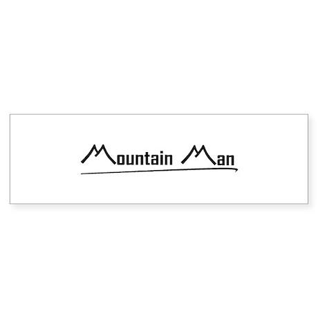 Mountain Man Bumper Sticker