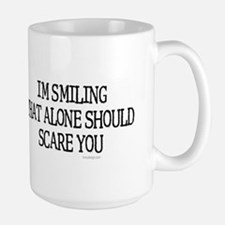 I'm smiling... Ceramic Mugs