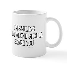 I'm smiling... Small Mug