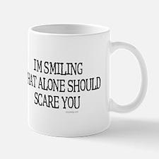 I'm smiling... Small Small Mug
