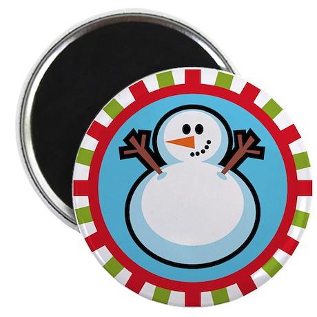 Cute Snowman Magnet