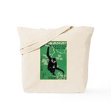 Vintage 1961 Vietnam Gibbon Postage Stamp Tote Bag